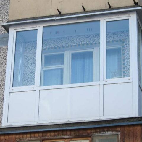 Картинка балкон в хрущёвке